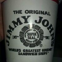 Photo taken at Jimmy John's by David R. on 6/10/2012