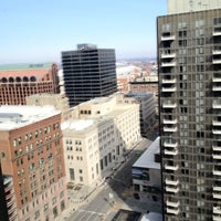 Photo taken at Crowne Plaza St. Louis - Downtown by Eric M. on 2/18/2012