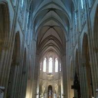 Photo taken at Basilique Sainte-Clotilde by Eduardo R. on 12/20/2011