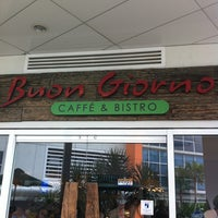 Photo taken at Buon Giorno! Caffe & Bistro by myra t. on 2/27/2011