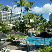 Photo taken at The Westin Maui Resort & Spa, Ka'anapali by Mark L. on 11/21/2011
