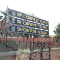 Photo taken at SMK Convent Klang by Atiqah Y. on 7/11/2012