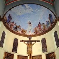 Photo taken at Iglesia Santa Eduvigis by German Andres J. on 7/20/2012