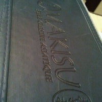 Photo taken at Makisu Sushi by Olivier L. on 1/27/2012