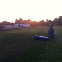 Photo taken at THS Track by Austin E. on 8/2/2011