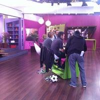"Photo taken at Estudio ""La Mañana De Chilevision"" by Karen B. on 6/15/2012"