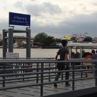 Photo taken at Wat Mahathat Pier by Poomjung K. on 6/16/2012
