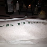 Photo taken at Mr. B's Bistro by roseanne on 3/15/2012