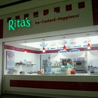 Photo taken at Rita's Italian Ice by John Highway W. on 10/1/2011