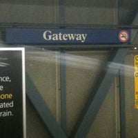 Photo taken at Gateway SkyTrain Station by Kid__Canada on 4/3/2011