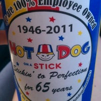Photo taken at Hot Dog on a Stick by Nicole G. on 10/8/2011