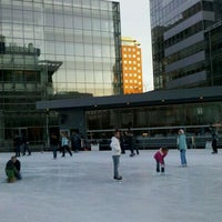 Photo taken at Kendall Square Community Ice Skating by Tristan on 1/29/2012