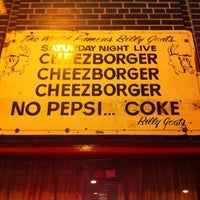 Photo taken at Billy Goat Tavern by Patricia Z. on 7/25/2011