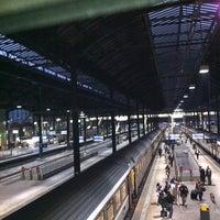 Photo taken at Basel SBB Railway Station by Rebeca B. on 10/30/2011