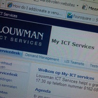 Photo taken at Louwman ICT Services by Cris G. on 12/5/2011