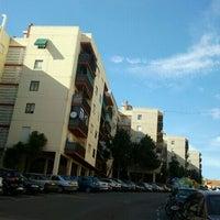 Photo taken at Calle Olivos by Manuela S. on 8/28/2011