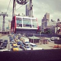 Photo taken at Roosevelt Island Tram (Manhattan Station) by Elisabeth J. on 5/25/2012