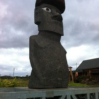 Photo taken at Easter Island by César E. on 11/10/2011