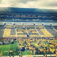 Photo taken at Michigan Stadium by Jake S. on 9/1/2012