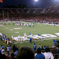 Photo taken at Stanford Stadium by John L. on 10/2/2011