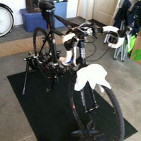 Photo taken at Lois Dashboard Taco's Cycling Center by Dan T. on 1/7/2012