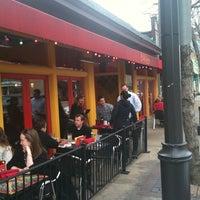 Photo taken at Barcelona Tapas Restaurant Saint Louis by Jessica C. on 5/22/2011