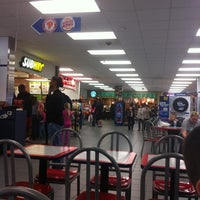 Photo taken at AAFES Food Court Yongsan Main by Ray R. on 4/17/2011