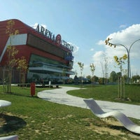 Photo taken at Arena Centar by Svjetlana P. on 10/15/2011
