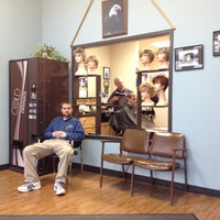 Photo taken at Reflections Hair Designs by Dave R. on 11/25/2011