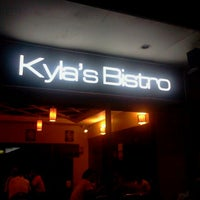 Photo taken at Kyla's Bistro by Charles R. on 8/26/2011