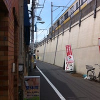 Photo taken at Okubo Station by Makoto F. on 5/11/2012