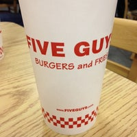 Photo taken at Five Guys by Michael T. on 2/18/2012