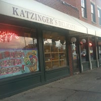 Photo taken at Katzinger's Delicatessen by Jen W. on 12/29/2011