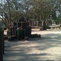 Photo taken at Parque Violeta Parra by Mauricio M. on 9/9/2012