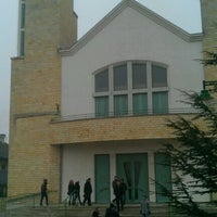 Photo taken at Jézus Szíve Templom by Mihaly V. on 11/19/2011