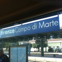 Photo taken at Firenze Campo di Marte Railway Station (FIR) by Luca 'Keeno' O. on 3/17/2012