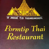 Photo taken at Pormtip Thai BBQ Seafood Restaurant by Danny T. on 1/7/2012