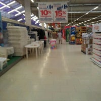Photo taken at Carrefour by Ariel R. on 12/10/2011