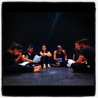 Photo taken at Teatro ICBEU by Nelio S. on 4/17/2012