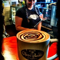 Photo taken at Chocolaté Coffee by TripHop D. on 3/14/2012