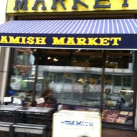 Photo taken at Amish Market Tribeca by Helen L. on 8/19/2011