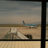 Photo taken at Aeropuerto Internacional de Salta - Martín Miguel de Güemes (SLA) by Heber R. on 10/28/2011
