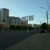 Photo taken at остановка Новосмоленская набережная by Nastusha🍒 on 5/29/2012