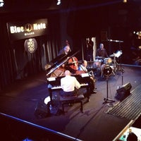 Photo taken at Blue Note by Elena C. on 9/12/2012
