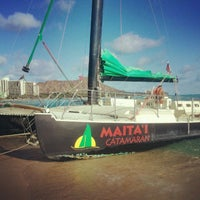 Photo taken at Maita'i Catamaran by @_MsTexas (. on 8/26/2012