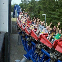Photo taken at Millennium Force by David Y. on 8/27/2011