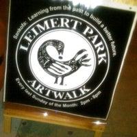 Photo taken at Leimert Park Art Walk (every last Sunday) by trice the afrikanbuttafly on 11/28/2011