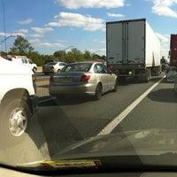 Photo taken at New Jersey Turnpike - Newark by Deborah D. on 4/27/2012