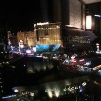 Photo taken at Mandarin Oriental, Las Vegas by Juan V. on 9/4/2012