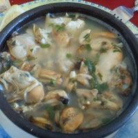 Photo taken at Restaurant El Golfo by Christopher Z. on 2/19/2012